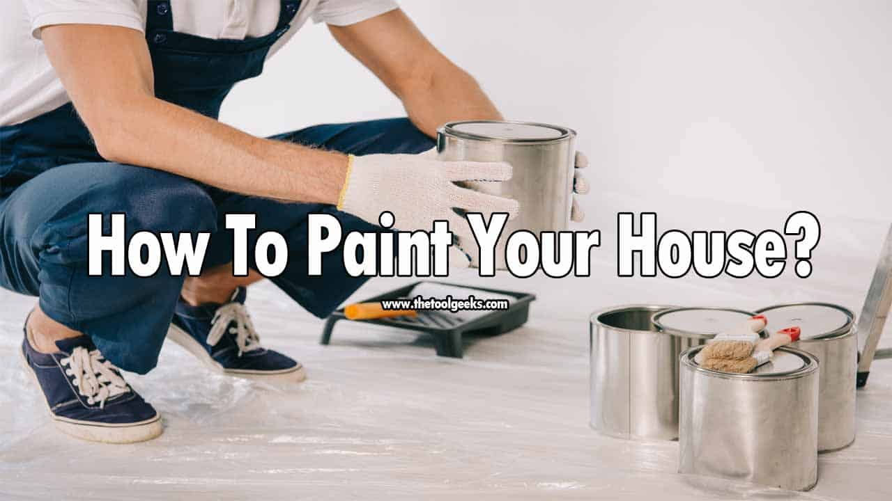 If you are a beginner then you need a guide that will teach you how to paint your house. The process is hard, and it will take a lot of time. So, if you are interested in spray painting your house then make sure to have a high-quality sprayer and a lot of free time.