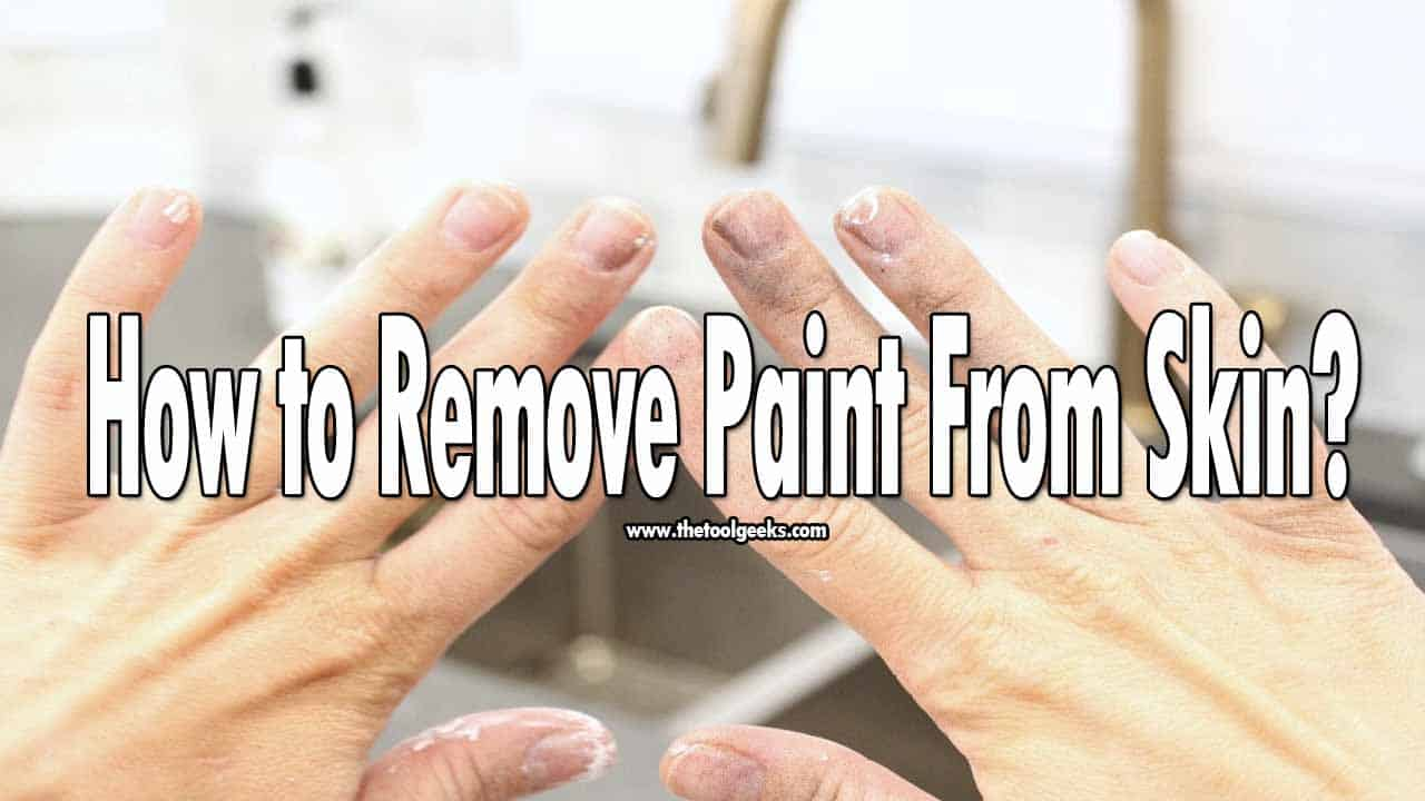 You have to deal with paint sticking into your fingers, clothes if you work with paint rollers/ sprayers a lot. That's why knowing how to remove paint from the skin can be helpful to you. There are a lot of ways you can do that, but we recommend using soap and warm water.