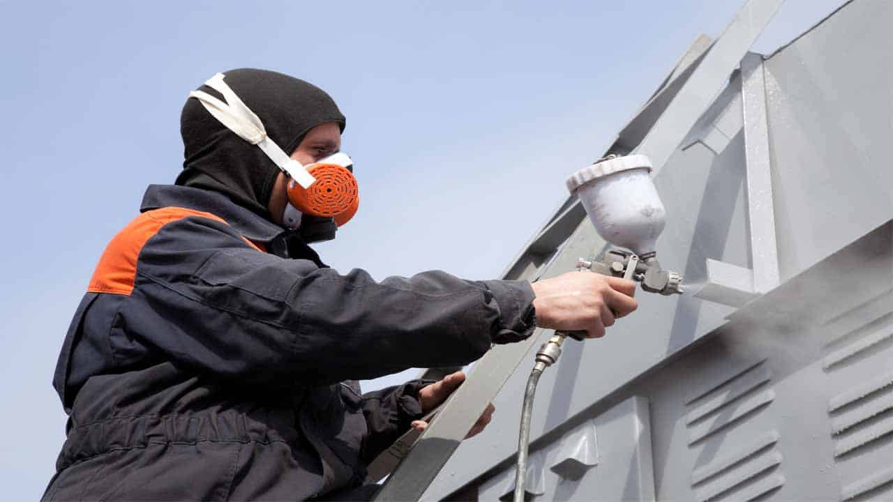 When is it too cold to paint? Usually, when the weather is so cold that you can't keep a dry surface. Having a dry surface is very important if you want to spray paint in cold weather.