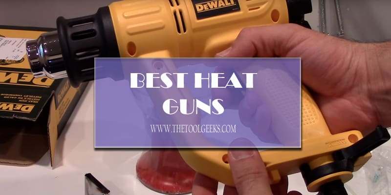 Here we have a big list of the top rated heat guns. We have listed all the pros and cons of each of these models. We have also listed the features that these heat guns have and we tried to explain them in the easiest way possible so everyone can understand it, even the ones who never used a heat gun before. So, try to read this heat gun review post slowly.
