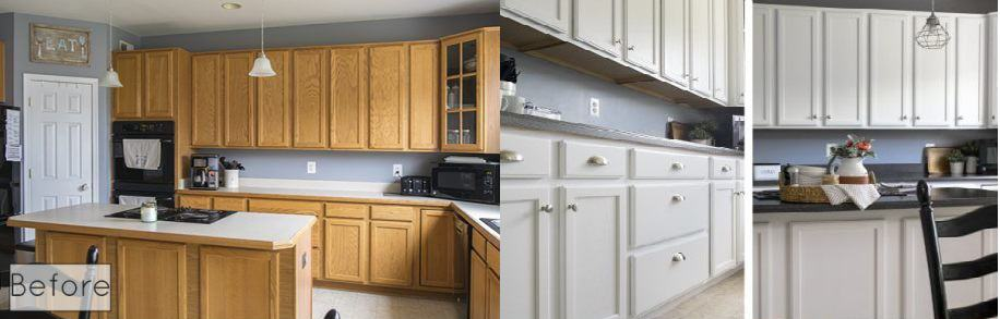 How To Paint Kitchen Cabinets With Airless Sprayer | www ...