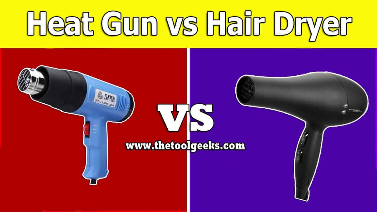 Not a lot of people know the difference between a heat gun vs hair dryer. If you don't then don't worry. We have made a guide where we explained what these two tools are, how to use them, and their difference.