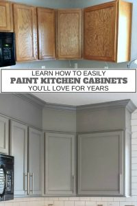 Lean how to paint spray your kitchen cabinets