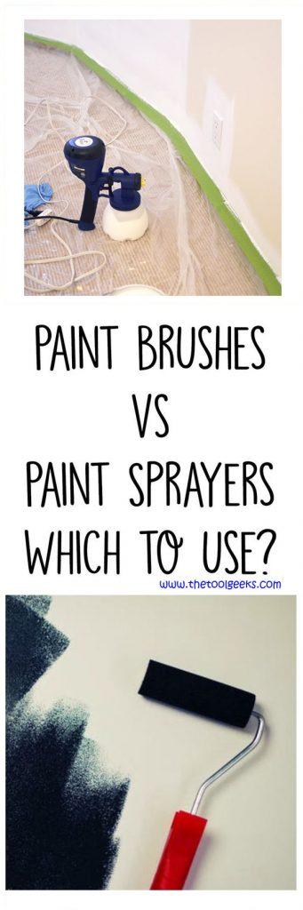 Paint Sprayers Vs Paint Rollers