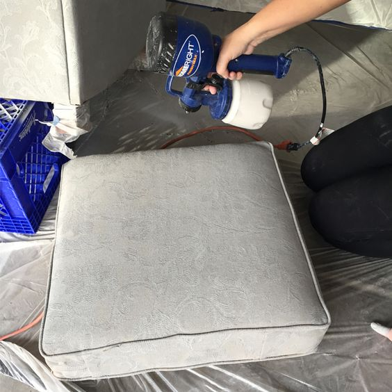 using paint sprayers to paint furniture