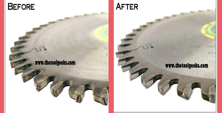 How to sharpen saw blades?