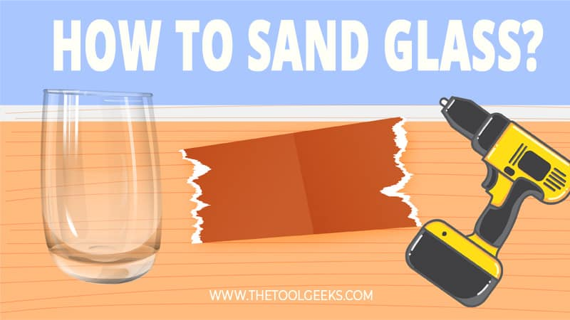 Glass can get rusted and old too. You may need to refinish it every once and then. To do that you need to know how to sand glass. To do that you need a sander and a guide to follow. We have made a guide that you can follow the steps and get good results.