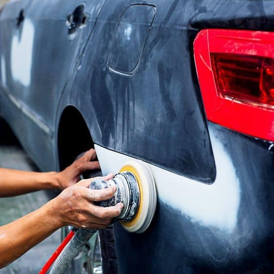 Sanding your car takes some time. There are 5 steps that you need to follow to do that. Cleaning your car, removing scratches, removing old paint, fixing damaged parts, are just some of the things that you need to do to sand your car.
