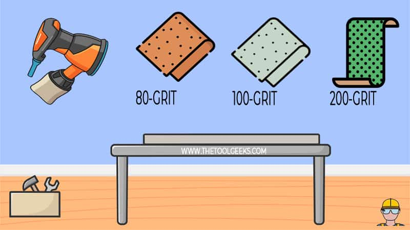 You need to choose the right sandpaper. Having the wrong sandpaper can damage your metal. So, it's important to know what sandpaper you need first.