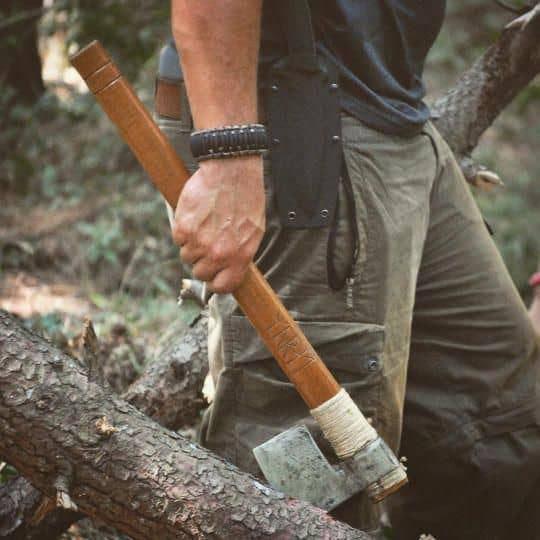Hatchets are basically a smaller version of the ax, and they are used for different tasks as well.