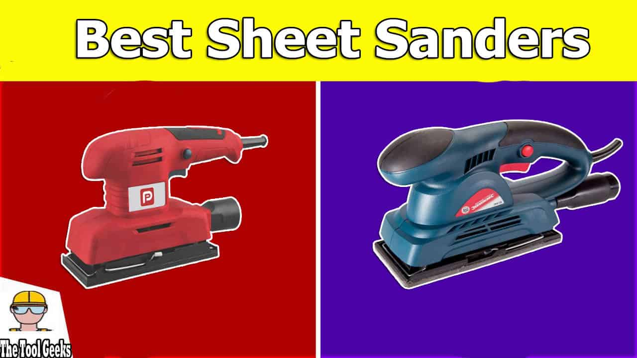 Not everyone wants a large sander, sometimes all you need is a small palm sander. The sheet sanders are known to be small and to fit your hands. If you are looking for the best sheet sanders then you should check our post where we listed 5 different finishing sanders.