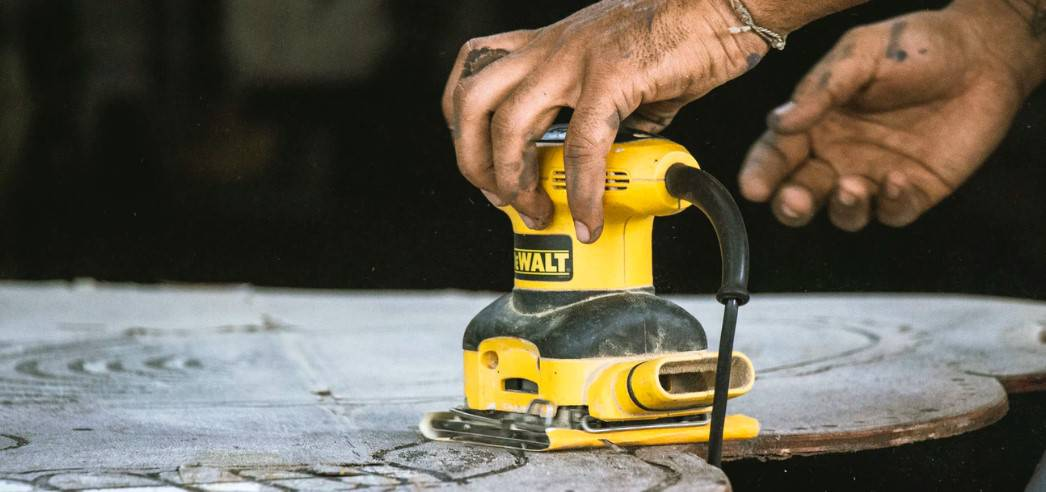 You can use sanders for a lot of projects. In comparison with a grinder, the sander is used mostly for woodworking and not metalwork.