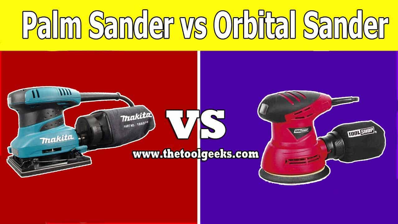 Orbital sanders vs palm sanders? Both of these two tools are good, it all depends on the project you are working on. You can use palm sanders to give the wood a smooth finish and you can use orbital sanders to remove the paint from the wood.