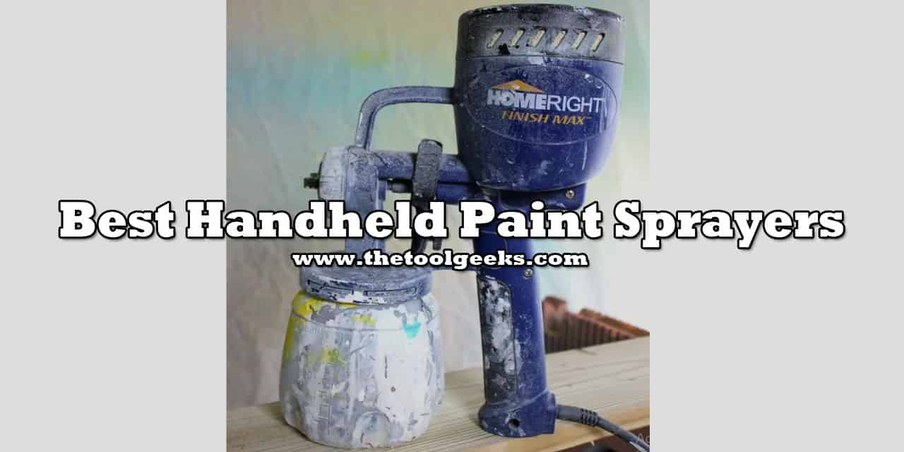 If you are planning to do some home renovations then you need a paint sprayer. To make the process easier for you I suggest you use handheld paint sprayers. They are lightweight and moving around is easier with them. Since there are a lot of models we have made a list of the best handheld paint sprayers.