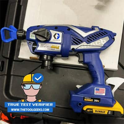 The review of the Graco 17M367 cordless paint sprayer