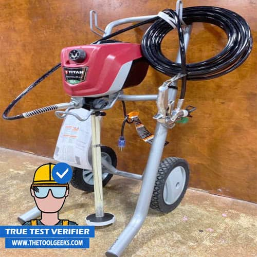 A picture of my favorite paint sprayer the Titan ControlMax 1700.