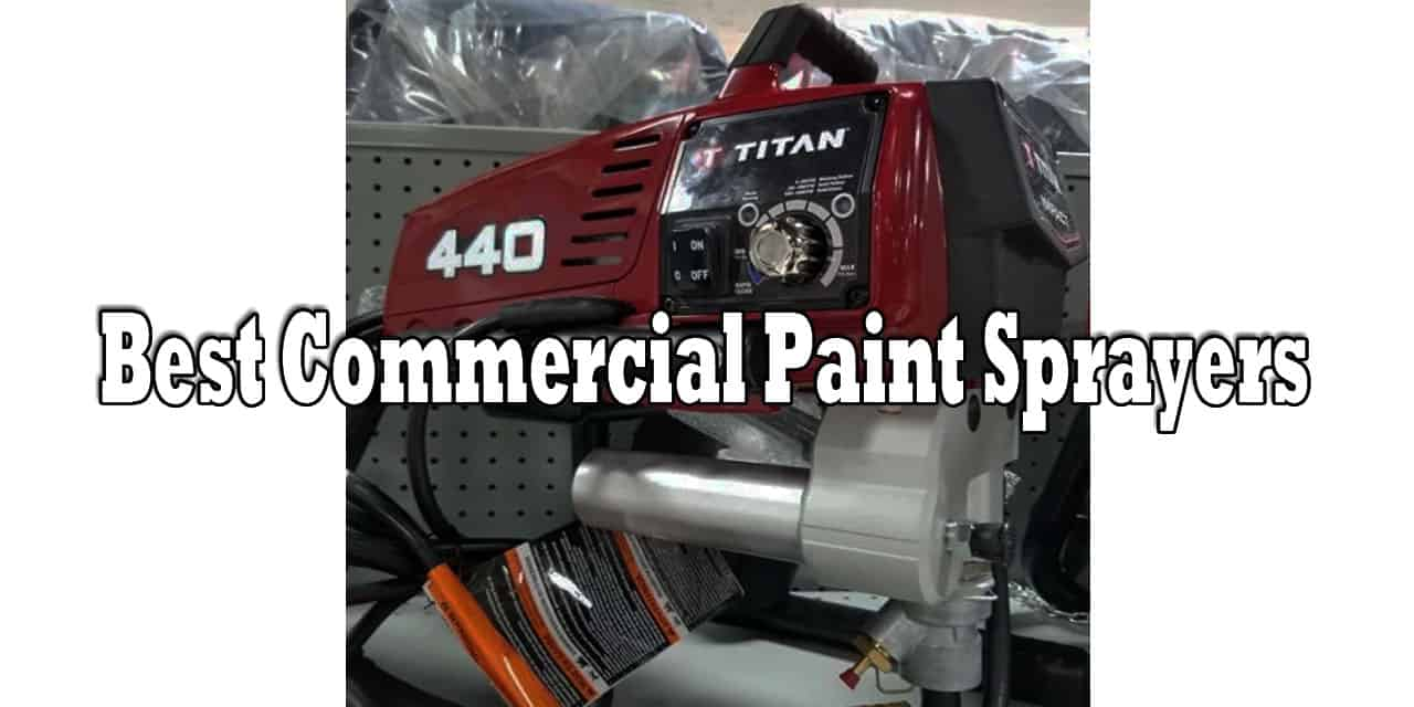 There are a lot of paint sprayers available, but the ones I use most are commercial paint sprayers. These paint sprayers usually cost more but they give you a better finish quality. If you are looking to buy one then make sure to check our best commercial paint sprayers list.