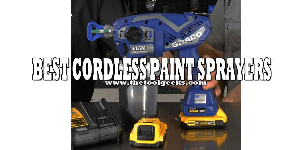 Cordless paint sprayers are the new wave. In a few years, everyone will own one. They don't make a mess, they are lightweight and have a smooth finish. Since they are new, choosing one can be hard. That's why we have made a list of the best cordless paint sprayers. Make sure to check it.