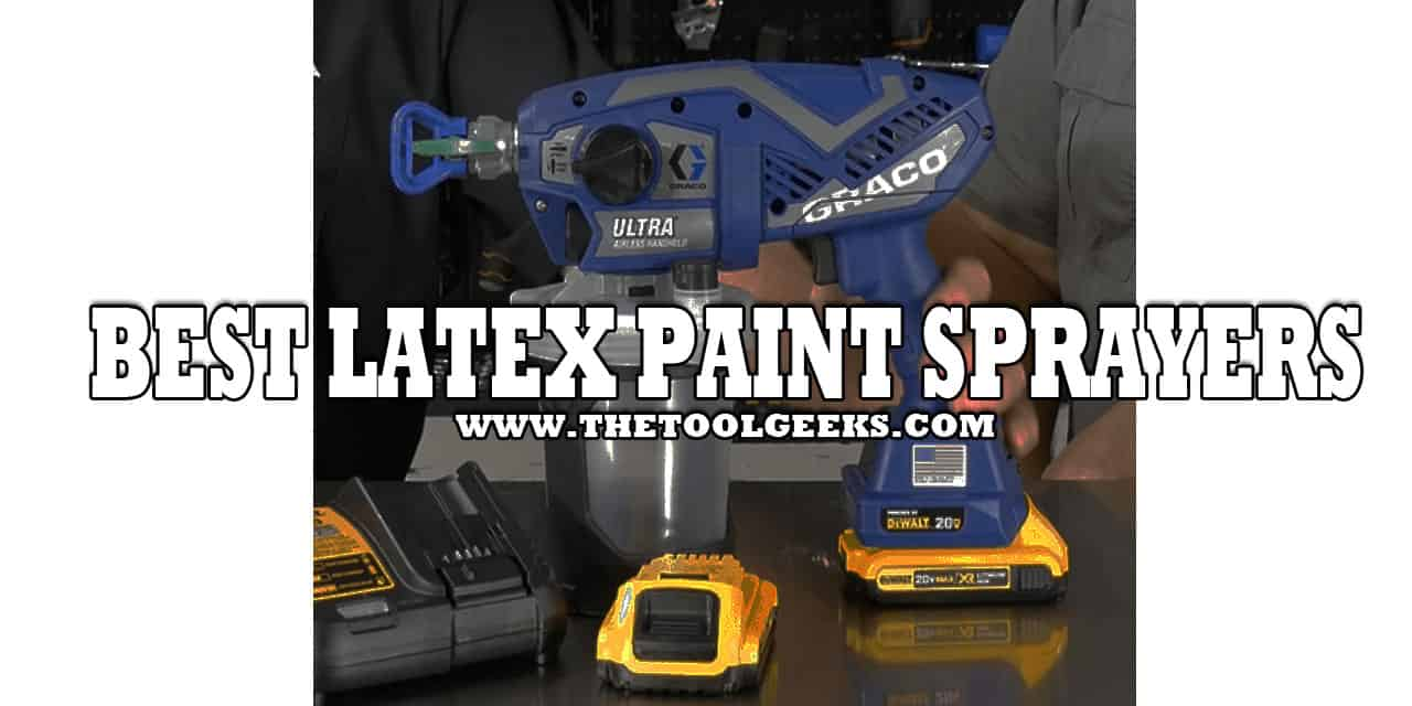 If you are looking to renovate your house then latex is a great choice. It dries fast, and it's easily removed. Not all paint sprayers are able to spray latex paint, so if you are looking for a latex paint sprayer then make sure to check our best latex paint sprayers list.