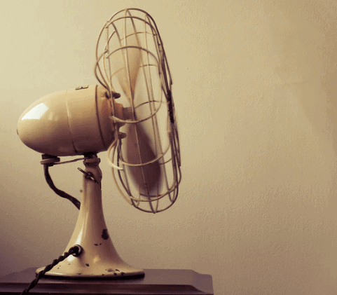 The fan can help for all sorts of smell, including paint smell