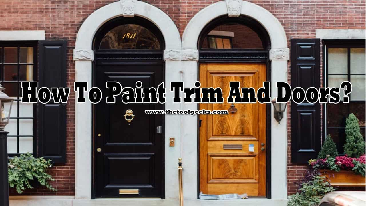 Not a lot of people know how to paint trim and doors. The process is easy, but it takes some time. Plus, you need a few tools to get it done. I have made a mini-guide that you can follow and get great results. Make sure to check it out.