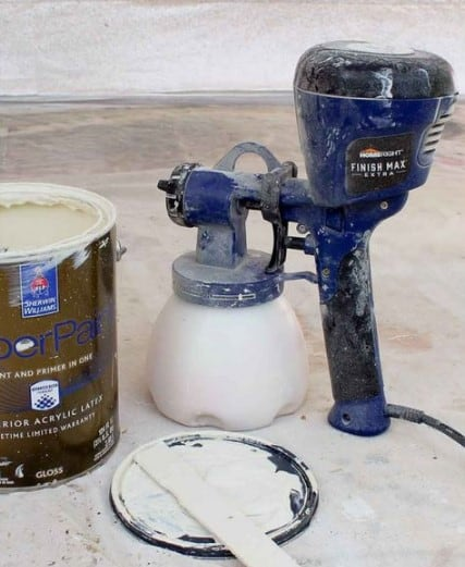 The HVLP stands for High Volume Low Pressure. These are sprayers that are mostly used for detailed projects, they are not very fast but they provide a very smooth and high-quality finish.