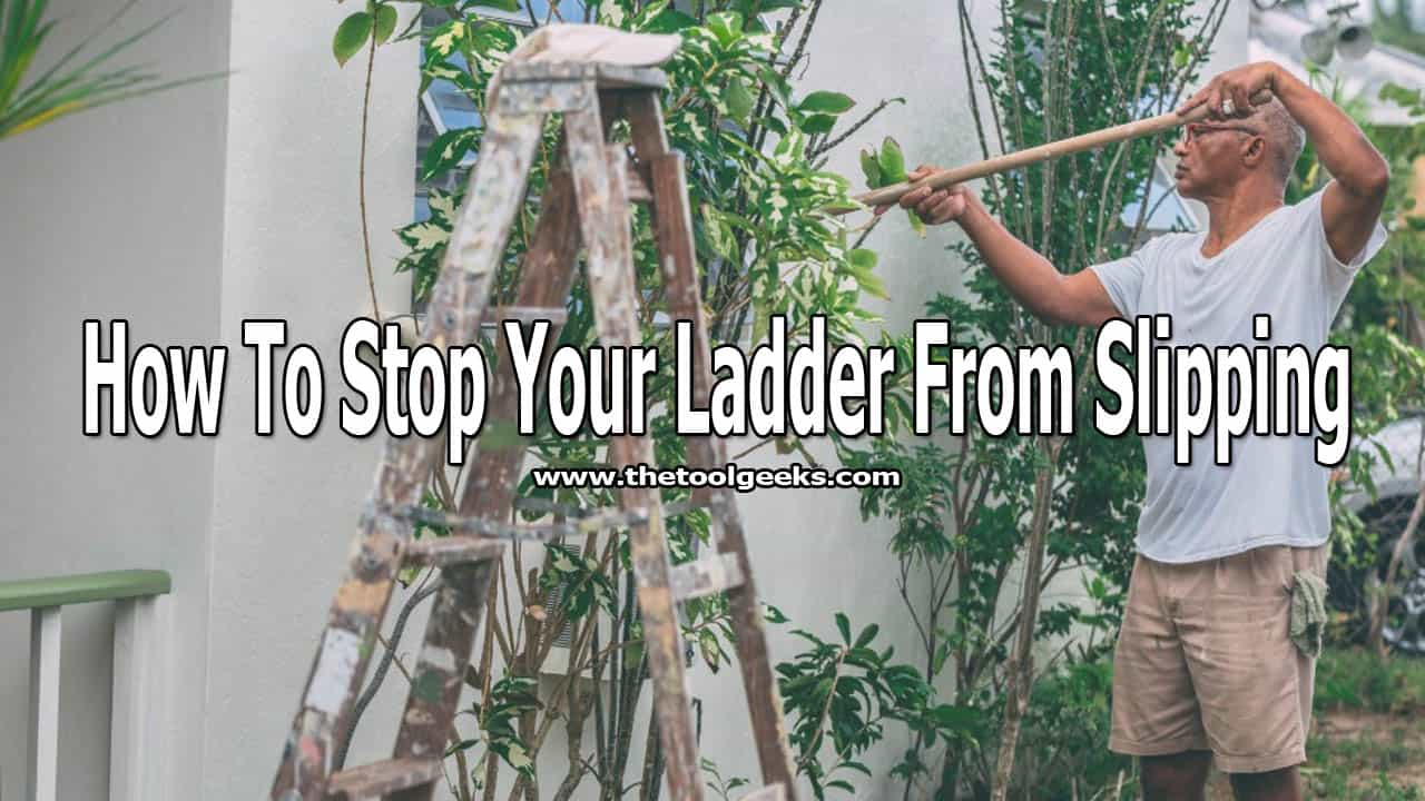 Everyone uses ladders, but not everyone knows how to safely use them. One of the biggest problems with ladders is slippery. If you don't know how to work with ladders then your ladder will probably slip. But, luckily for you, we have made a guide that will teach you how to stop your ladder from slipping