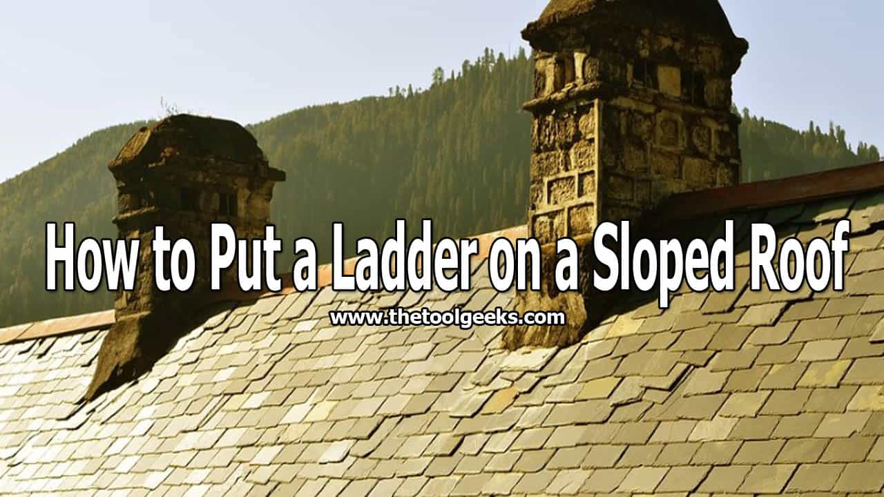 You can use ladders on different surfaces. You can even use them on roofs. But, you need to follow some steps to do it safely. If you want to learn how to put a ladder on a sloped roof then make sure to read this post.