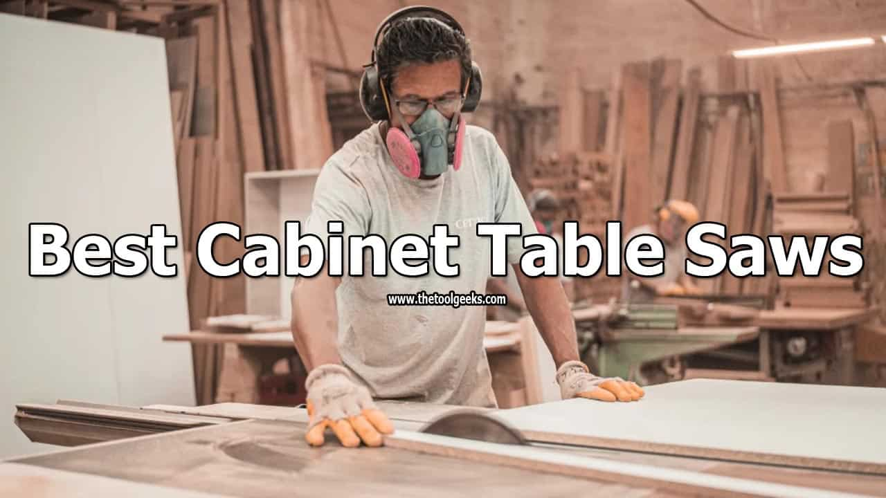 As you may know, buying a cabinet table saw is a big investment. If you have a low budget then choosing one can be even harder. To help you out, we have decided to make the best cabinet table saws list. The list contains 5 different models. Hopefully, this list will help you to make an easier choice.