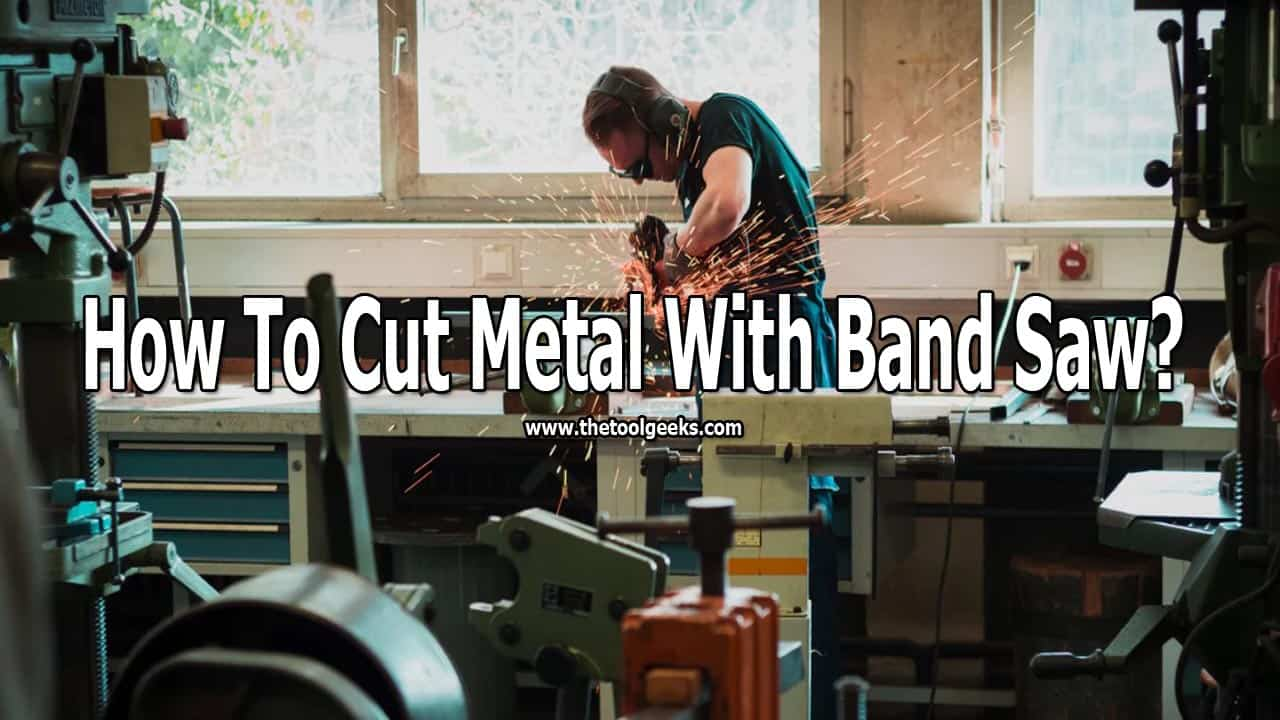Can bandsaws cut metal? Yes, there are some models that can, but you need special blades to do that. Once you get the blades then you need to know how to cut metal with a bandsaw. The process isn't very hard if you already know how to use a bandsaw.