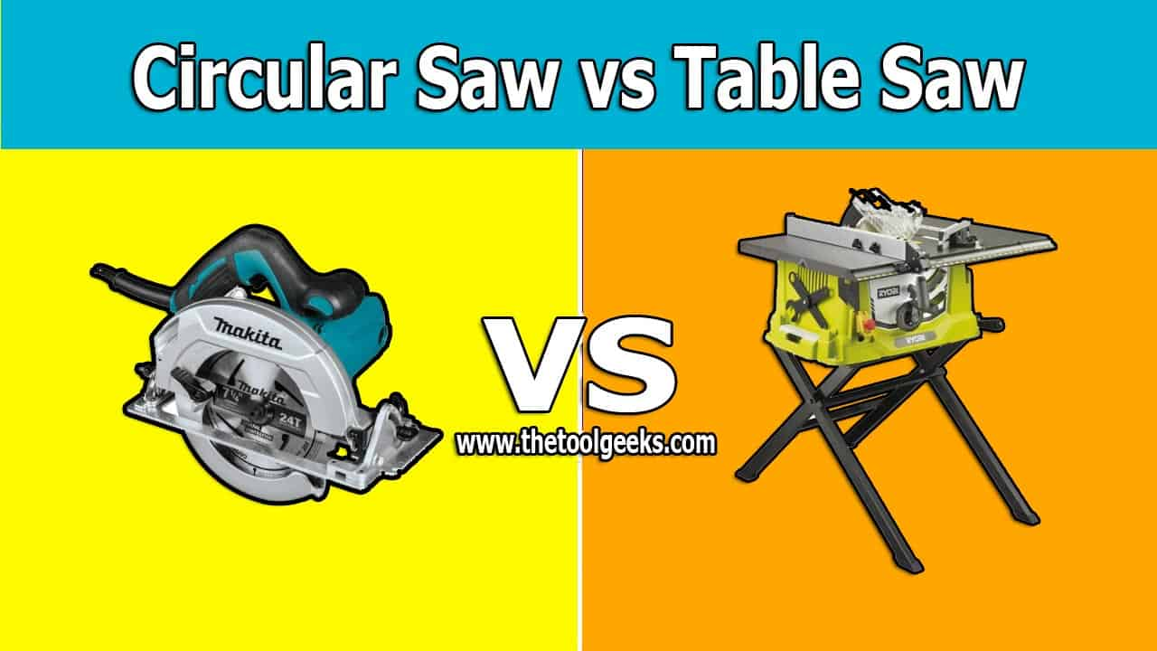 The circular saw and the table saw are used a lot by woodworkers. If you are a professional you can use one for the other job. If you are not then you have to own these two. The main difference between the circular saw vs table saw is the body. The circular saw comes with a portable body while the table saw comes with a stationary body.