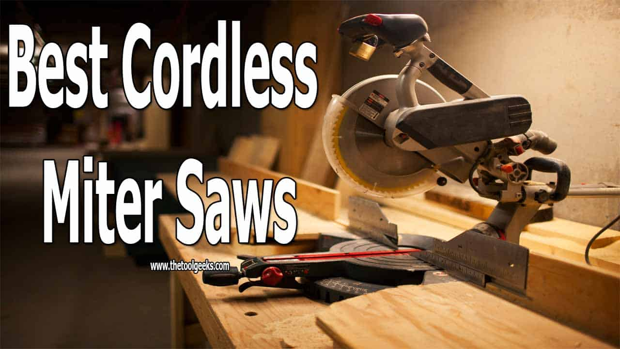 It can be overwhelming to find the best cordless miter saws. To help you out, we made a list where we listed 5 different battery-operated miter saws that come with different features. We wrote a detailed review of each of the units we listed.