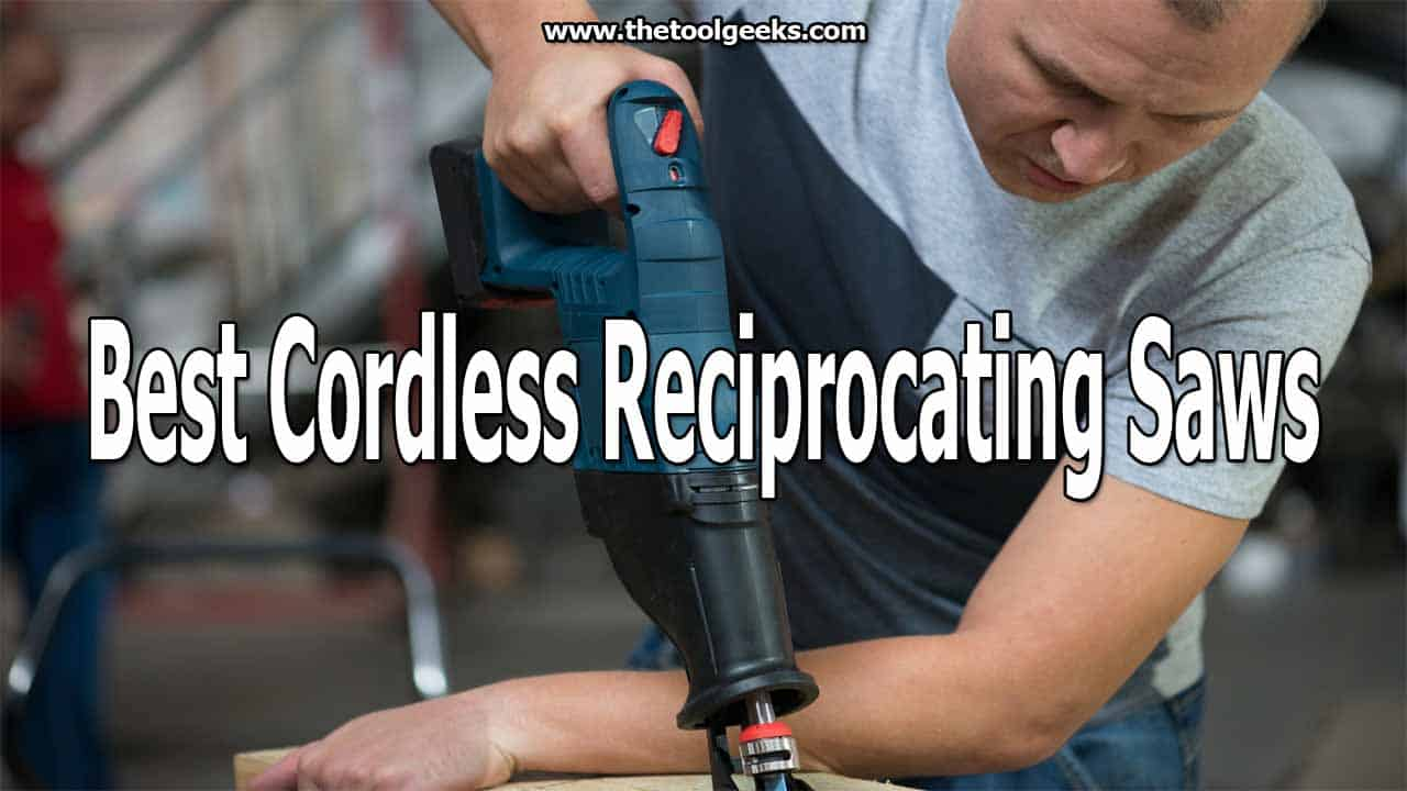 If you are doing woodworking projects then you need a cordless reciprocating saw. These types of saws are portable, easy to use, and give you great results. But, finding the best cordless reciprocating saws can be hard. There are a lot of models available that come with a lot of features. That's why we made a list that contains the best cordless Sawzall -- it includes 5 different models with different features.
