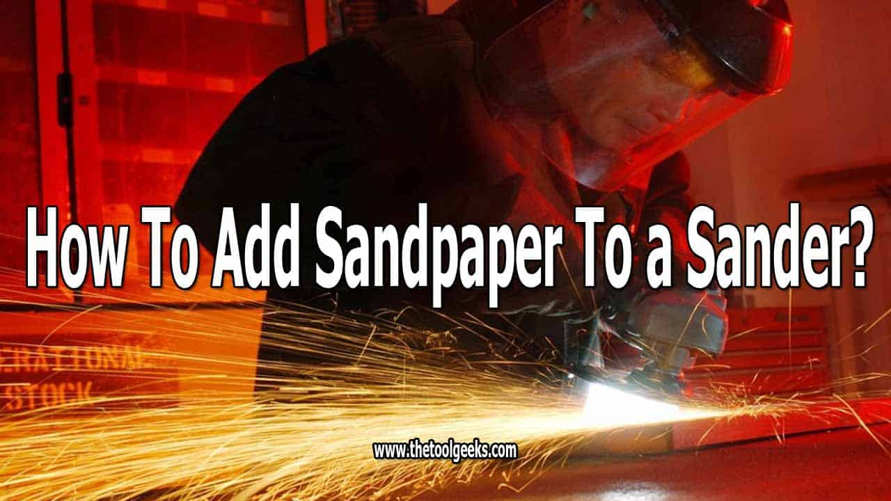 If you are doing sanding projects, then knowing how to add sandpaper on a sander is needed. You can't use a sander without sandpaper. Lucikly for you, the process is easy, and it doesn't take a lot of time. We have made a simple, but effective guide on how to do that. It only takes 5 steps.