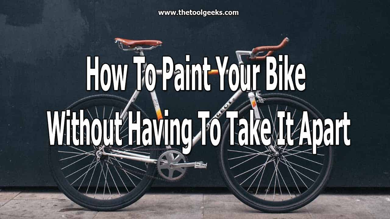 After a while, your bike will look old and rusty. When that time comes, you have to re-paint it. The process is easy, but still, a lot of people think it's hard. That's why we have made a simple guide on how to spray paint your bike without taking it apart.