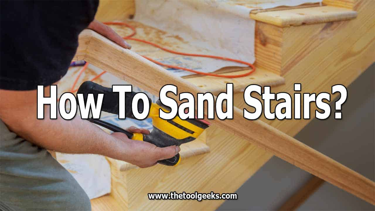 There comes a time when you have to refinish your staircase. When that time comes, you need to know how to sand stairs. That's the first thing you are going to do -- remove the paint and wax from the staircase.