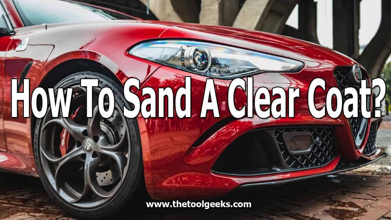 Your car will get old eventually, so you may want to re-paint it. To do that, you need to know how to wet sand a clear coat. A clear coat is used a lot in cars, so knowing how to remove the old layers, and adding new ones can save you a lot of money.