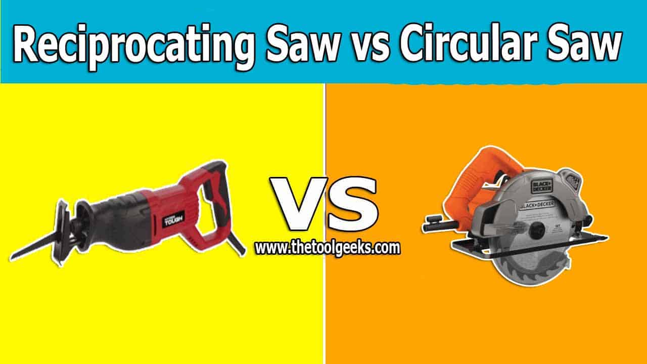 When it comes to these two great power tools, there are many differences. The first and most obvious one is the body style. There are a lot of more differences between reciprocating saw vs circular saw.