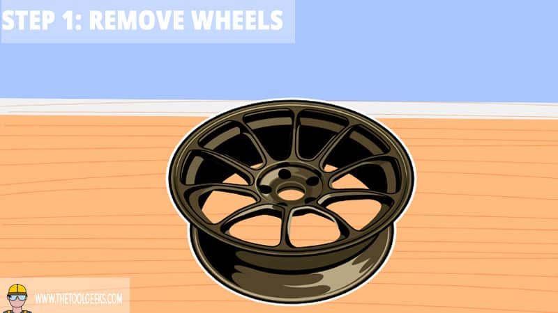 Step 1: Remove the Wheels