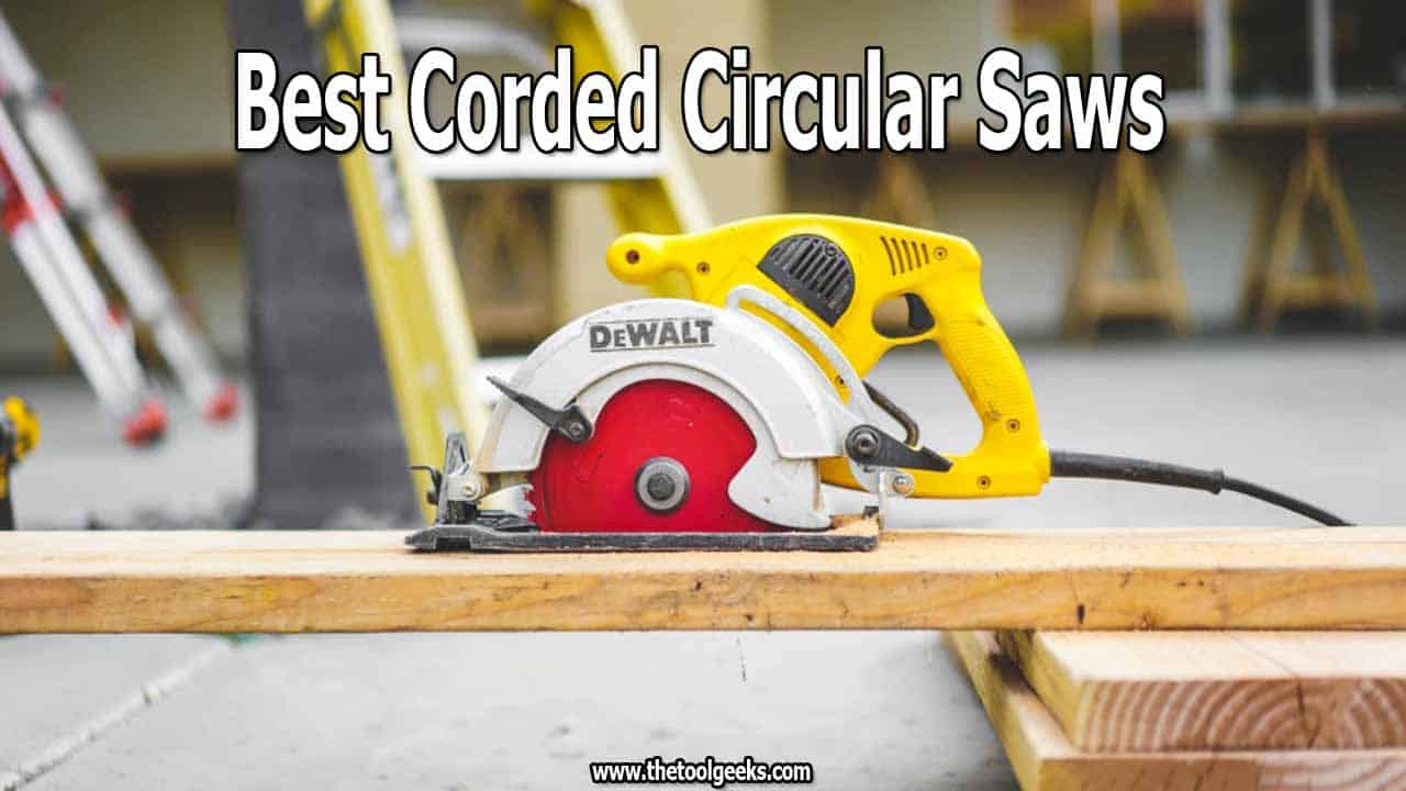 The best corded circular saws are the ones that will help you complete your project faster and give you precise cuts. Finding one can be hard, but we have done all the hard work for you.