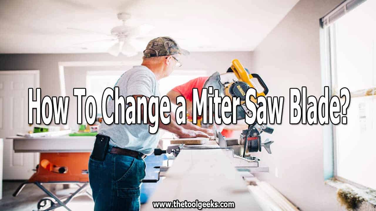 When the time comes, you need to know how to change a miter saw blade. If you are working with different surfaces then you need a different blade for each task. Knowing how to change it will save you a lot of time and energy.