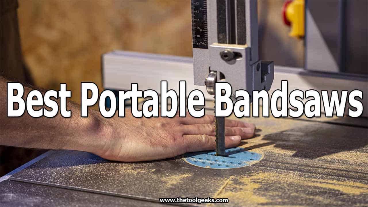 If you are working every day in a different place then you need a cordless bandsaw. These types of bandsaws are easy to use and most of the time are very lightweight. If you don't have one, then finding the best portable bandsaws is very easy. We made a list that contains 5 different units that you can choose from.