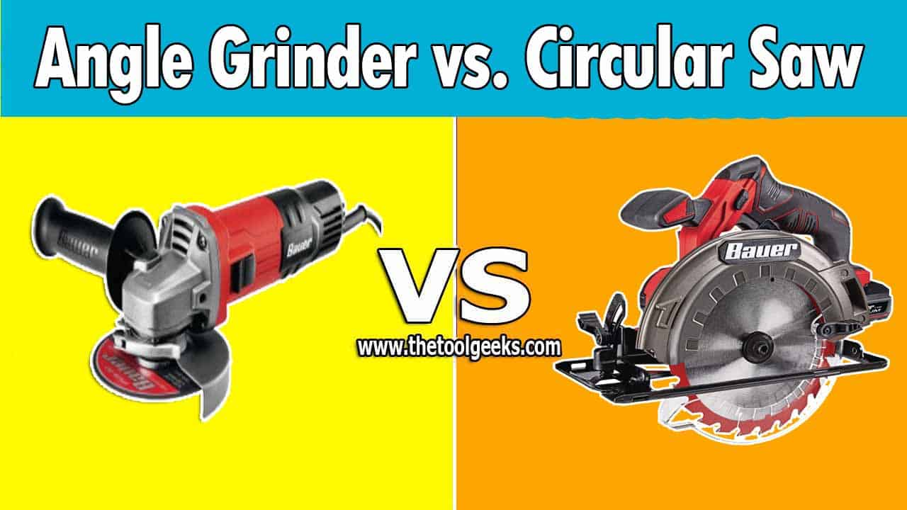 There are many differences between circular saws vs angle grinder. The main difference between these two is the angle of the blade. The circular saw comes with a straight blade, while the angle grinder comes with a horizontal blade.