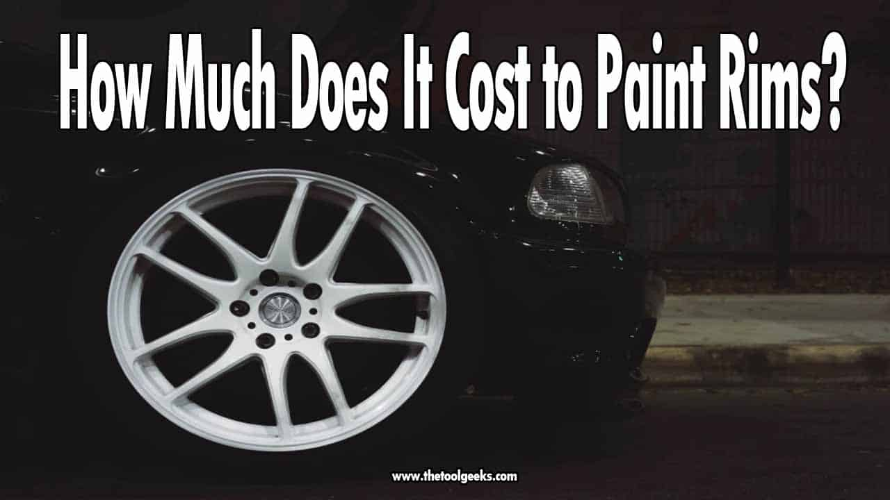 If you are planning to make your car look better, then you must be wondering how much does it cost to paint rims? It depends on many factors, but on average, it costs between $30-$100 to paint one rim