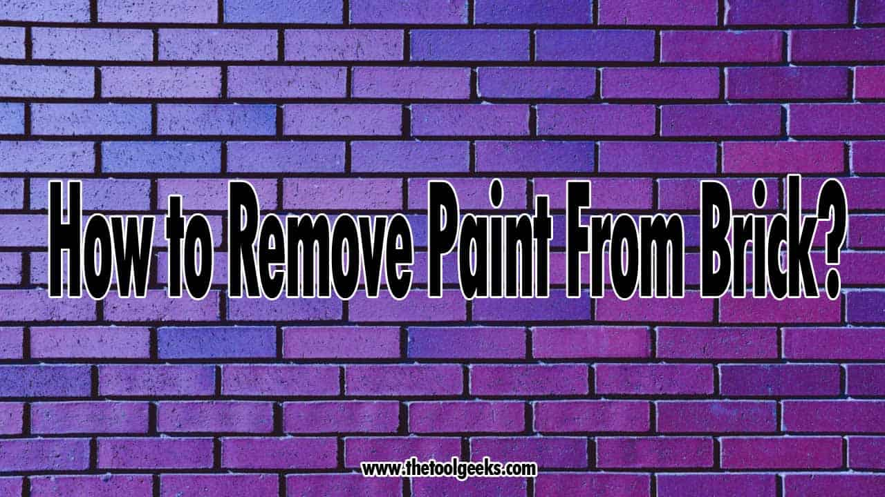 You need to know how to remove paint from brick if you have brick walls and want to re-do their paint. The process can be difficult because there are some paint removers that you can't use, you can't use pressure wash because it can harm the bricks. If you want to know the exact steps we take then check the guide we shared.