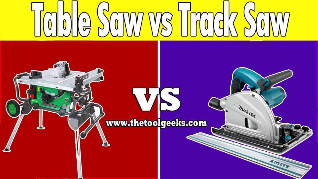Track saws are being used more and more. They offer almost the same cuts as a table saw. So, which one should you choose? A table saw vs track saw? The choice depends on your needs. A track saw is a more portable power tool, while a table saw is harder to move.