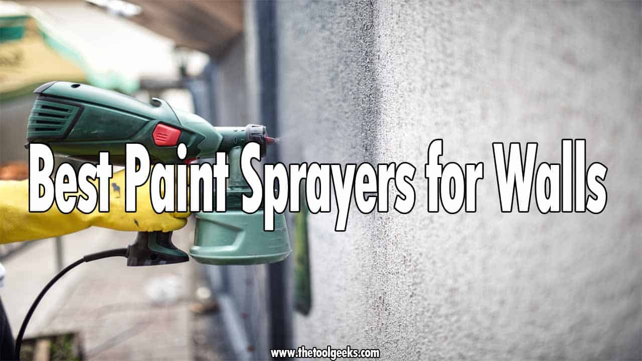 If you have decided to do some home renovations then you will probably start by repainting your walls. To do that, you need a paint sprayer. If you don't have one, then you should check our best paint sprayers for walls list. The list contains different sprayers that have different qualities. Make sure to check it, and find the one that fits your needs.