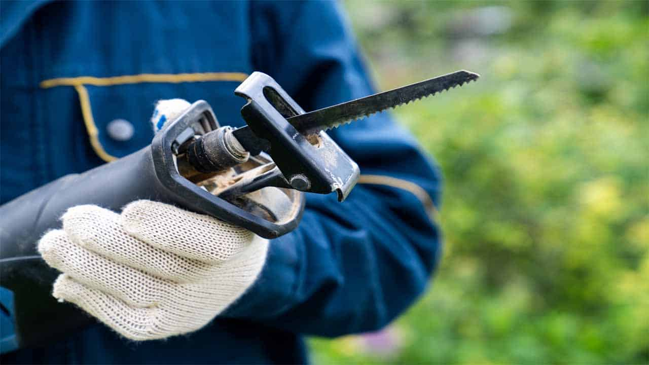 Sometimes the trees in your garden need to be cut, to do that you need a reciprocating saw. The reciprocating saw comes with a long blade that can help you reach the trees easier. You should definitely get one. If you don't have one, then make sure to check our list of the best reciprocating saws for pruning.