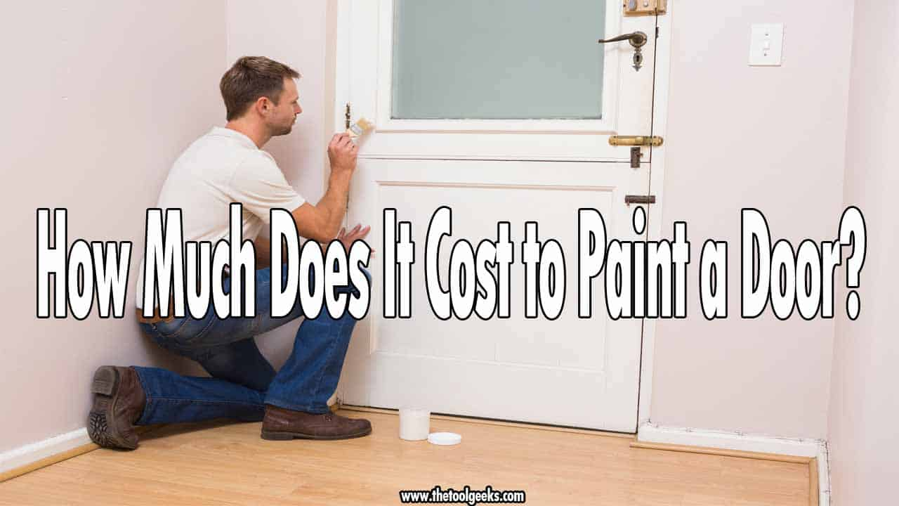 If your doors are starting to look old then you might need to re-paint them. So, how much does it cost to paint a door? It depends on a lot of factors, but usually, it costs 100$ to do it yourself and 200$ if you hire a professional.