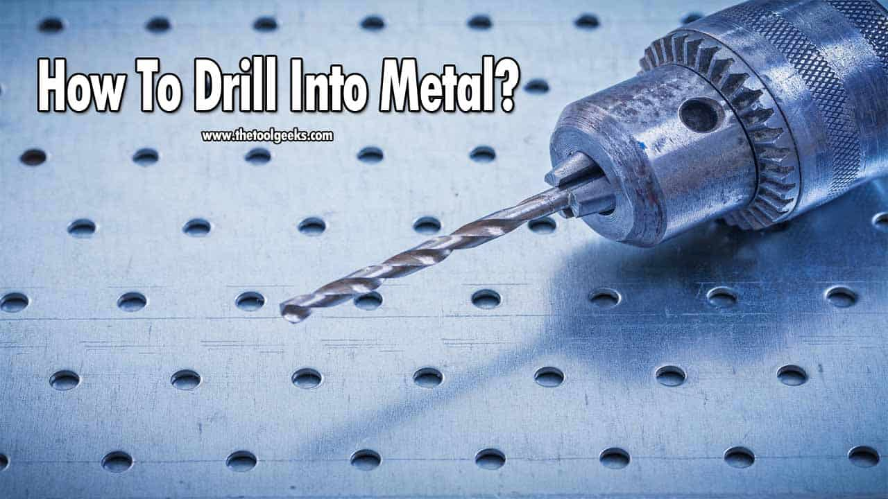 Metals are very durable, they will last for years. You can throw metals to the ground and they still won't break. Knowing this, many people think that drilling through metal is hard. But, not a lot of people know that metals are very sensitive when it comes to drilling, with very little experience and some good drill bits you can easily drill through metal. But, to get the best results possible you should follow our guide on how to drill into metal. We have listed all the steps and tools you need to get it done quicker and better.